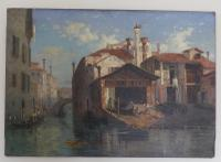 Stunning 19th Century Venetian Scene, Oil On Canvas by Thomas Pyne (6 of 8)