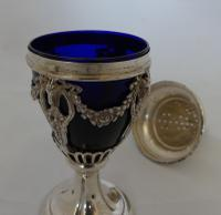 Beautiful 19th Century Continental Silver Sugar Sifter (6 of 7)