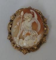 Beautiful 19th Century Cameo Brooch (3 of 5)