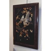 19th Century Japanese Framed Panel (2 of 4)