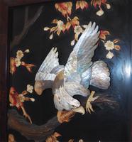 19th Century Japanese Framed Panel (3 of 4)