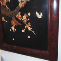 19th Century Japanese Framed Panel (4 of 4)