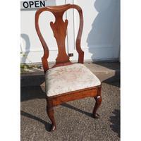 Early Georgian Country Walnut Chair