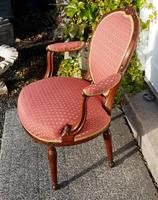 Good 18th Century Dutch Walnut Salon Chair (5 of 6)