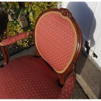 Good 18th Century Dutch Walnut Salon Chair (3 of 6)