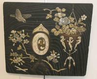 Quality 19th Century Japanese Inlaid Panel c.1880