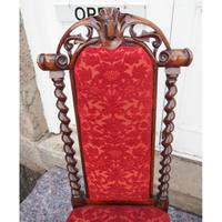 Early Victorian Rosewood Nursing Chair (5 of 7)