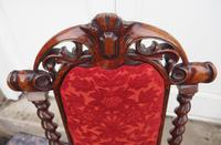 Early Victorian Rosewood Nursing Chair (6 of 7)