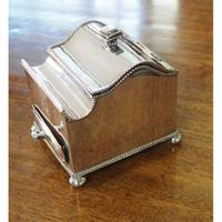 Fine Quality Silver Plated Desk / Ink Stand (3 of 7)