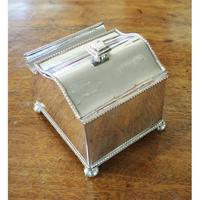Fine Quality Silver Plated Desk / Ink Stand (4 of 7)