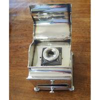 Fine Quality Silver Plated Desk / Ink Stand (5 of 7)