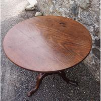 Large Georgian Cuban Mahogany Tripod Table (2 of 6)