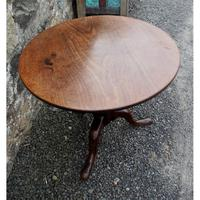Large Georgian Cuban Mahogany Tripod Table (3 of 6)