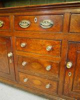 Good Georgian Oak Dresser & Rack (7 of 7)