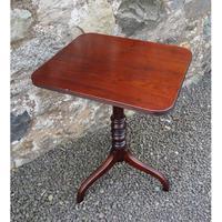 18th Century Cuban Mahogany Tripod Table