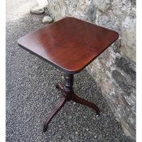 18th Century Cuban Mahogany Tripod Table (2 of 6)