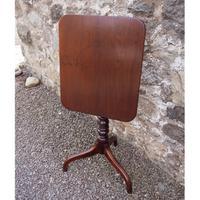 18th Century Cuban Mahogany Tripod Table (3 of 6)