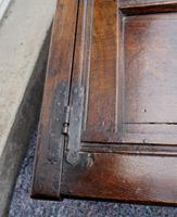 Baby Size 17th Century Carved Oak Coffer (7 of 8)