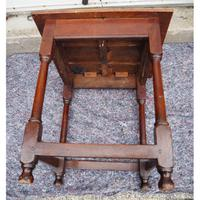Early 18th Century Oak Occasional Table (6 of 7)