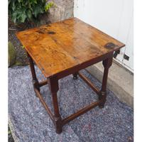 Early 18th Century Oak Occasional Table (3 of 7)