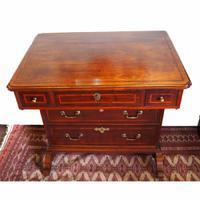 Rare Small Irish George I Period Walnut Desk