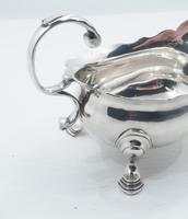 Superb George II Silver Sauce Boat London 1750 (3 of 5)