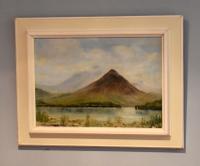 Welsh Landscape Oil Painting by Charles Wyatt Warren