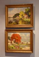 Pair of Oil Paintings of the Far East
