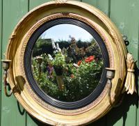 Fine Regency Convex Mirror (2 of 9)
