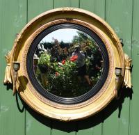 Fine Regency Convex Mirror (3 of 9)