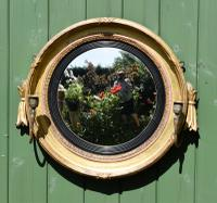 Fine Regency Convex Mirror (4 of 9)