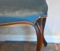 Fine Victorian Rosewood Cabriole Leg Stool (2 of 7)