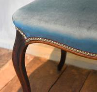 Fine Victorian Rosewood Cabriole Leg Stool (5 of 7)