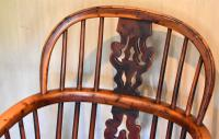 Superb Yew Wood Low Back Windsor Chair (4 of 11)