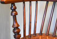Superb Yew Wood Low Back Windsor Chair (6 of 11)