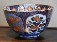 Superb Large Fukagawa Porcelain Bowl