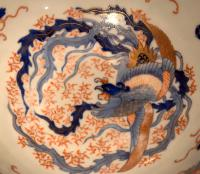 Superb Large Fukagawa Porcelain Bowl (8 of 11)