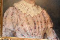 Superb Portrait of a Lady by A.Larroux (5 of 9)