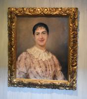 Superb Portrait of a Lady by A.Larroux (8 of 9)