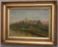 Oil Painting of Windsor Castle by William Matthews (2 of 8)