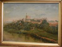 Oil Painting of Windsor Castle by William Matthews (3 of 8)