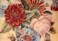 Victorian Needlework of a Vase of Flowers (8 of 9)
