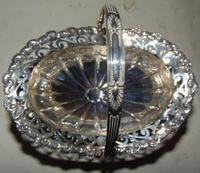 Edwardian Silver Basket (2 of 6)