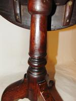 Georgian Oak Birdcage Tripod Table (2 of 7)