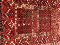 Antique Tekke Turkoman Ensi Rug c.1900 (5 of 7)