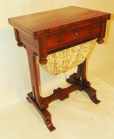 Regency Rosewood Work / Games Table