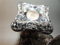 Pair of Edwardian Silver Plated Candlesticks (3 of 6)
