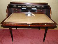 Georgian Mahogany Tambour Desk (2 of 11)