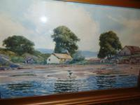 Watercolour Crinan by P. Macgregor Wilson (2 of 5)