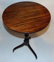 Georgian Mahogany Tripod Wine Table (3 of 5)